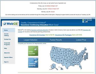 webce.com screenshot