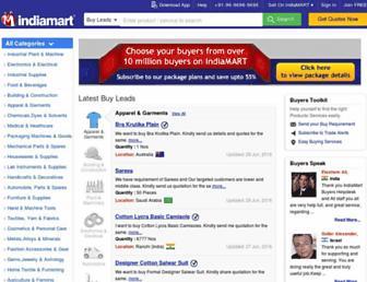 trade.indiamart.com screenshot