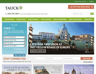 Thumbshot of Tauck.com