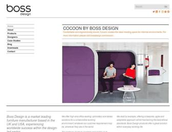 bossdesign.com screenshot