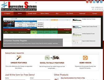 impressionsystems.com screenshot