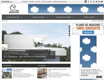 maison.com screenshot