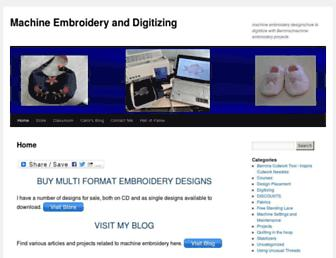 machineembroideryanddigitizing.com screenshot