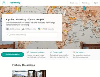 community.withairbnb.com screenshot