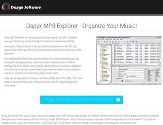 dapyx-soft.com screenshot