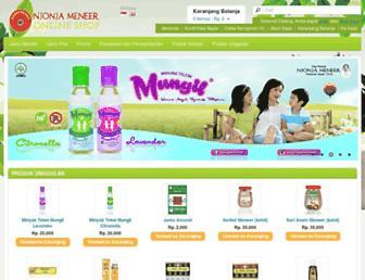meneershop.com screenshot