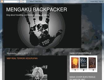 mengakubackpacker.blogspot.com screenshot