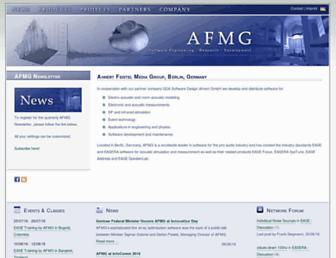 afmg.eu screenshot