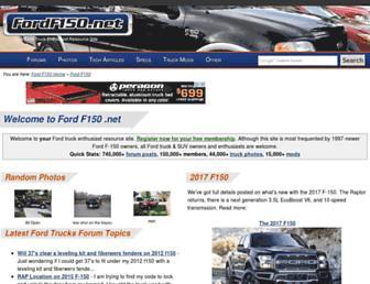 Thumbshot of Fordf150.net
