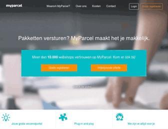 Thumbshot of Myparcel.nl