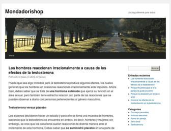 Main page screenshot of mondadorishop.it
