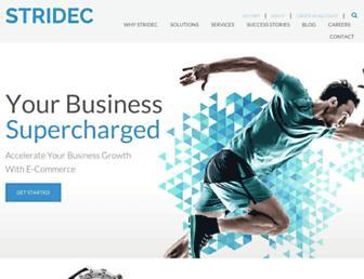 stridec.com screenshot