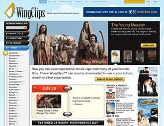 wingclips.com screenshot