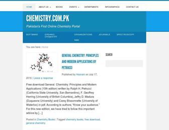 chemistry.com.pk screenshot
