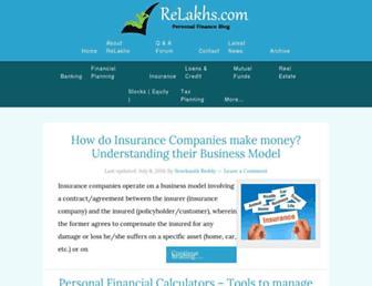 relakhs.com screenshot