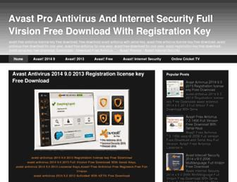 avast-antivirus-free-download.blogspot.com screenshot