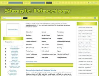 Thumbshot of Simpledirectory.com.ar