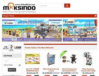tokomesin.com screenshot