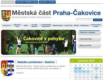 Thumbshot of Cakovice.cz