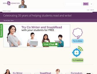 donjohnston.com screenshot