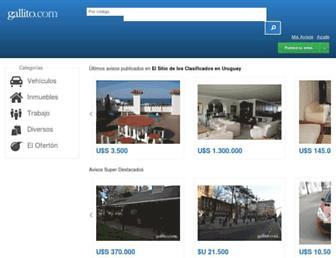gallito.com.uy screenshot