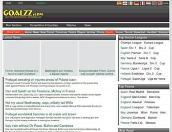 goalzz.com screenshot