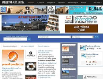 poslovni-adresar.ba screenshot