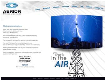 aerior.com screenshot