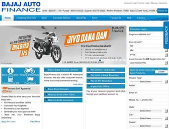Thumbshot of Bajajautofinance.com