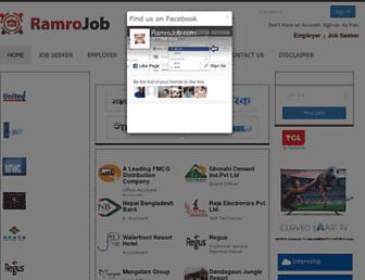 Thumbshot of Ramrojob.com