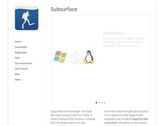 subsurface-divelog.org screenshot