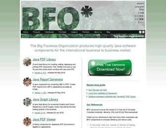 bfo.com screenshot