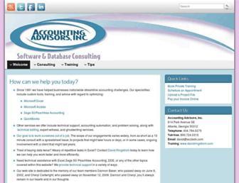 acctadv.com screenshot