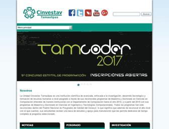 tamps.cinvestav.mx screenshot