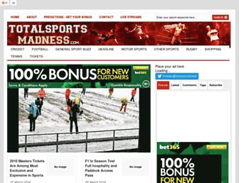 Thumbshot of Totalsportsmadness.com