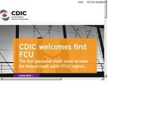 cdic.ca screenshot