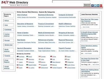 Thumbshot of 247webdirectory.com