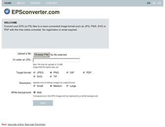 epsconverter.com screenshot