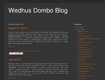 wedhusdomboblog.blogspot.com screenshot