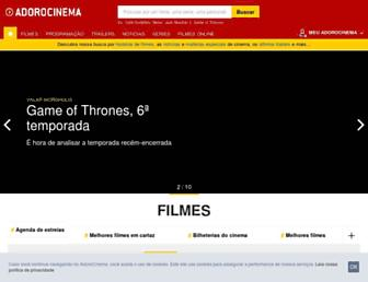 Thumbshot of Adorocinema.com