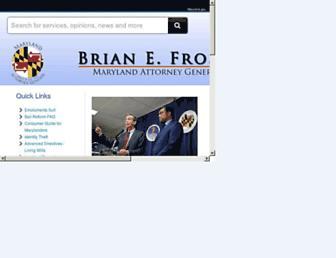 marylandattorneygeneral.gov screenshot