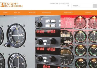 flightillusion.com screenshot