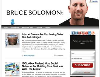 Thumbshot of Brucesolomon.net