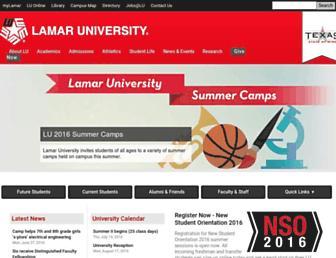 Thumbshot of Lamar.edu