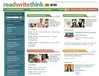 readwritethink.org screenshot