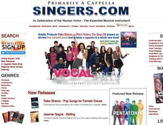 singers.com screenshot