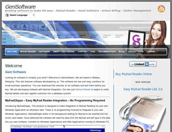 genisoftware.net screenshot