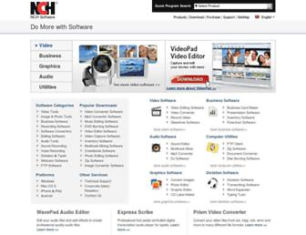 nchsoftware.com screenshot