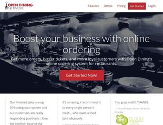 Thumbshot of Opendining.net