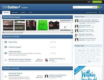 forum.uscutter.com screenshot